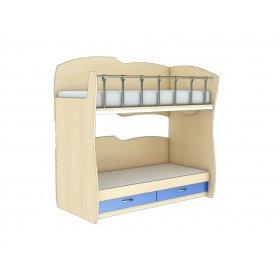 Двухэтажная кровать КДРЛ 1-52 Планета Луна 90х200