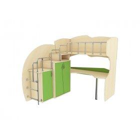 Мебельный комплект с встроенной лестницей МКЛ 42 Планета Луна