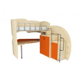 Мебельный комплект с встроенной лестницей МКП 41 Планета Луна