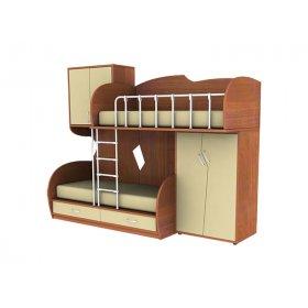 Мебельный комплект с встроенной лестницей МКП 51 Планета Луна