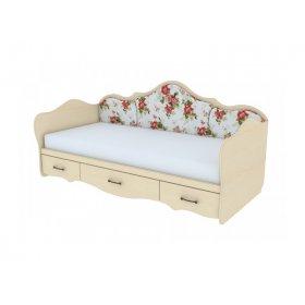 Кровать К 4-1 120х200 с накладками Прованс
