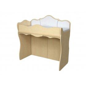 Кровать двухъэтажная КД 4-6 с тканевыми накладками  Прованс