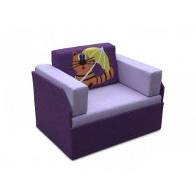 Детский диван Кубик-боковой Кот