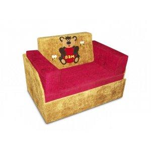 Детский диван Кубик-боковой Мишка