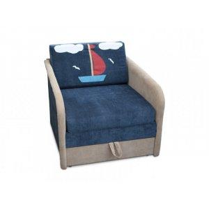 Детский диван Малыш Кораблик