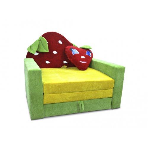 Детский диван Фантазия Клубничка