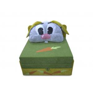 Детский диван Омега-аппликация Зайка