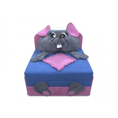 Детский диван Омега-аппликация Мышка