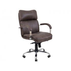 Кресло Дакота Хром/М-1 темно-коричневый