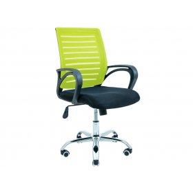 Кресло Флеш хром/М-1 салатовое
