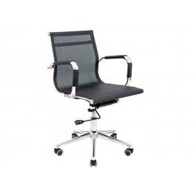 Кресло Кельн LB Хром/M1 чёрное