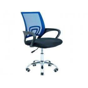 Кресло Спайдер Хром синий/М-1
