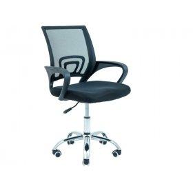 Кресло Спайдер Хром черный/М-1
