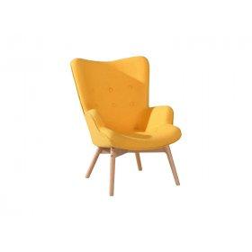 Кресло Флорино желтое