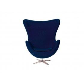 Кресло Эгг синее