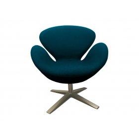 Кресло СВ синее