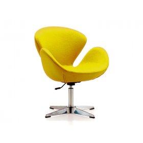 Кресло Сванни желтое