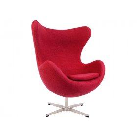 Кресло ЭГГ ткань красный
