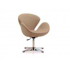 Кресло Сванни стил серое