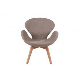 Кресло Сванни Вуд коричневое