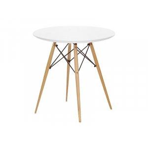 Стол обеденный Тауэр Вуд круглый диаметром 60 см