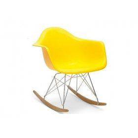 Кресло Тауэр R желтое