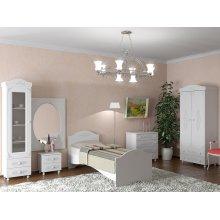 Спальня Ассоль-1 белая