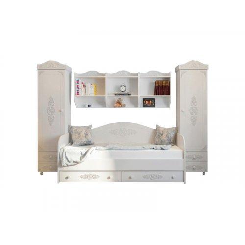 Комплект для спальні Белль-2 білий