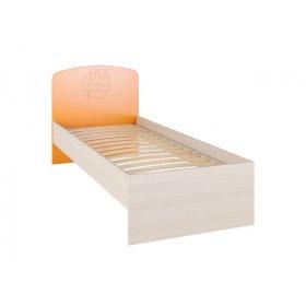 Кровать МДМ-11 80х200 Маугли оранж