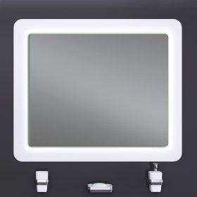 Зеркало ULTRA Cosmo White 88х83