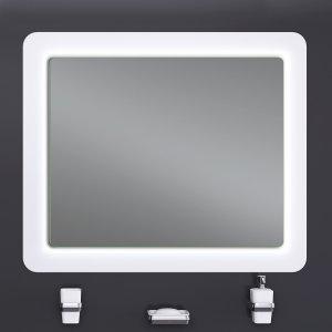 Зеркало ULTRA Cosmo White 108х83