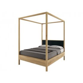 Кровать SWB039 Моффат 160 x 200 Ясень без подъемного механизма