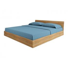 Кровать SWB023 Оксфорд 140x200 Ясень без подъемного механизма