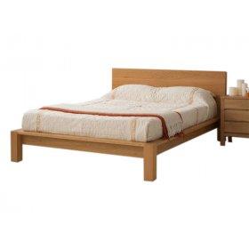 Кровать SWB022 Борнмут 140x200 Ясень без подъемного механизма