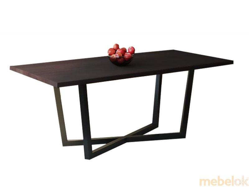 Обеденный стол HG146 Скандерборг 150 ДСП Дуб Венге