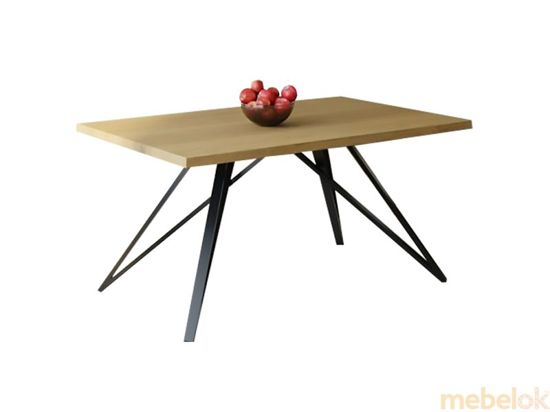 Обеденный стол HG139 Ньорресундби 150 ДСП Дуб Светлый