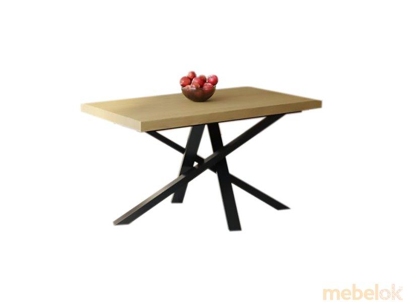 Обеденный стол HG120 Каструп 150 ДСП Дуб Светлый