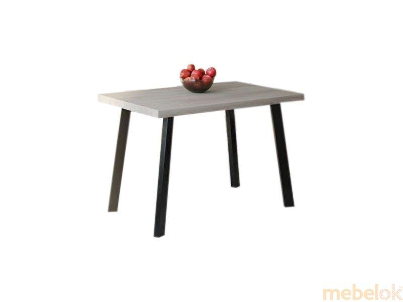 Обеденный стол HG105 Гентофте 120 ДСП Дуб Серый