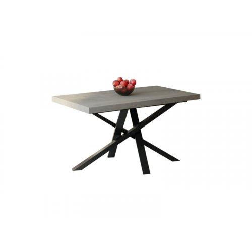 Обеденный стол HG120 Каструп 135 ДСП Дуб Серый
