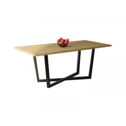 Обеденный стол HG146 Скандерборг 120 ДСП Дуб Светлый