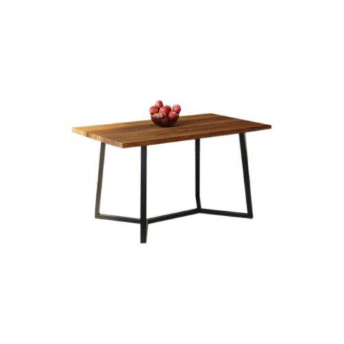 Обеденный стол HG122 Виборг 120 ДСП Дуб Ореховый