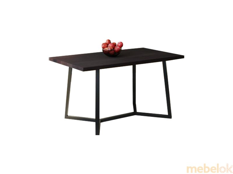 Обеденный стол HG122 Виборг 120 ДСП Дуб Венге