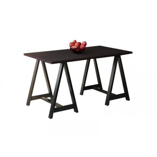 Обеденный стол HG134 Свендборг 120 ДСП Дуб Венге