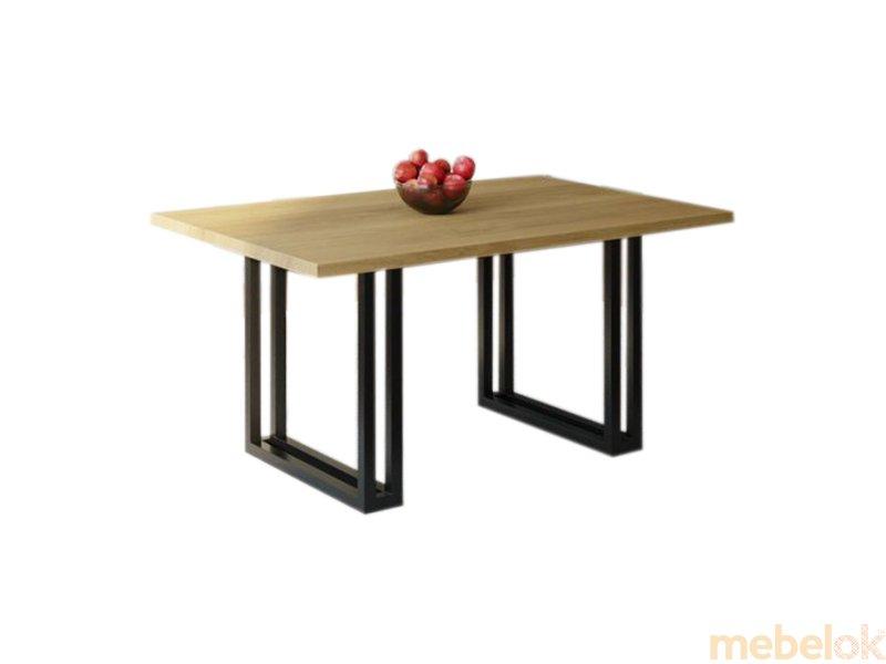 Обеденный стол HG148 Нюборг 120 ДСП Дуб Светлый