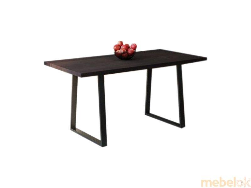Обеденный стол HG141 Хадерслев 135 ДСП Дуб Венге