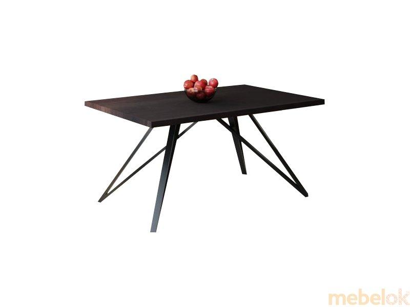 Обеденный стол HG139 Ньорресундби 135 ДСП Дуб Венге