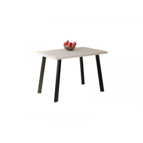 Обеденный стол HG105 Гентофте 120 ДСП Дуб Белый