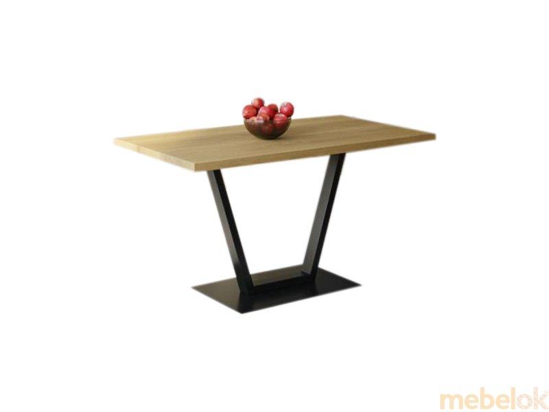 Обеденный стол HG129 Гиллеред 135 ДСП Дуб Светлый