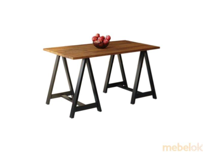 Обеденный стол HG134 Свендборг 150 ДСП Дуб Ореховый