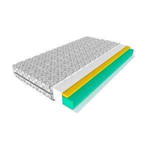 Беспружинный ортопедический матрас Ruddy Foam Memory 160х200. Купить матрас Ruddy Foam Memory 160х200 в интернет-магазине с доставкой.